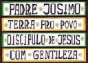 Padre Josimo Bom Cristão, ensinava o Povo a partilhar. Carinho com Gentileza.