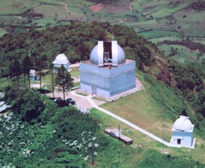 Resultado de imagem para telescópio no Observatório do Pico dos Dias, em Brazópolis, Minas Gerais