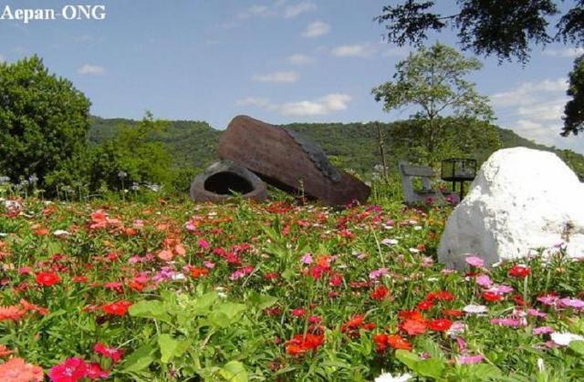 bancos de jardim no rs:Jardim no município de Westfália-RS