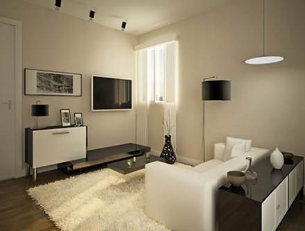 ideias para decoração de sua sala pequena com móveis sob medida