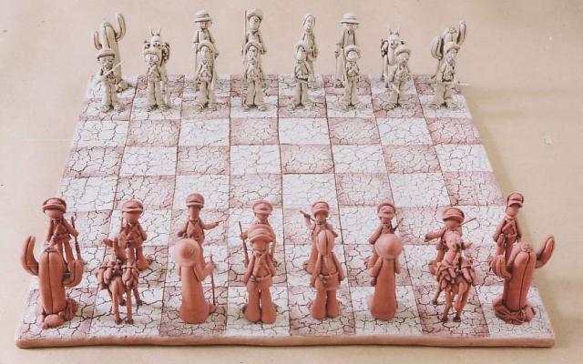 Resultado de imagem para tabuleiro de xadrez cangaço